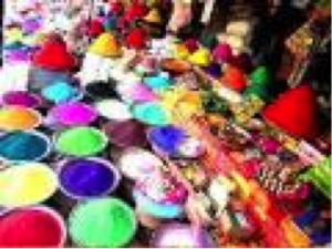 Beautiful colours of Gulal