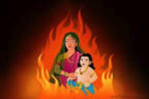 The Legendary story of Holika and Prahlad